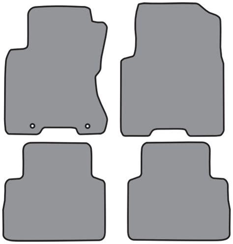 2008 Nissan Rogue Floor Mats by 2008 2013 Nissan Rogue Cutpile 4pc Factory Fit Floor Mats