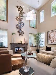 wall decor for high ceilings how to decorate a large living room to make it feel cosy