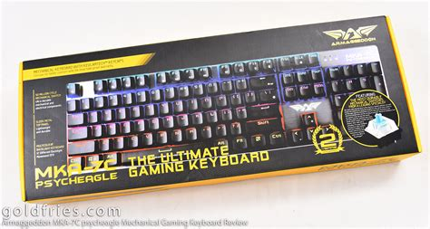 Keyboard Gaming Armageddon armaggeddon mka 7c psycheagle mechanical gaming keyboard review goldfries