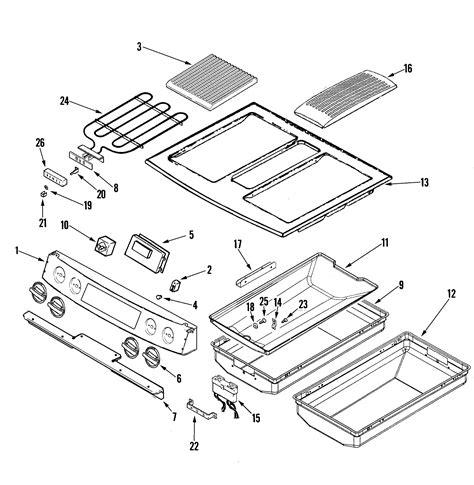 Jenn Air Electric Cooktop Replacement Parts - jenn air jennair cooking parts model jes9860bcw sears
