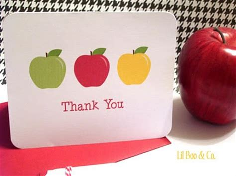 printable thank you card for teacher back to school ideas adorable free teacher gift lunch