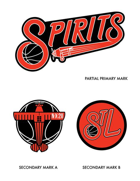 what was the original color of st day spirits of st louis identity on behance