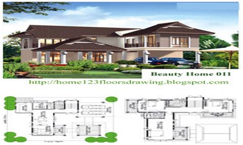 tropical house designs and floor plans tropical house
