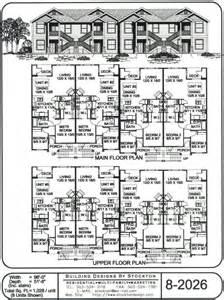 8 Unit Apartment Floor Plans by Ez Build Systems Inc Apartment Floor Plan