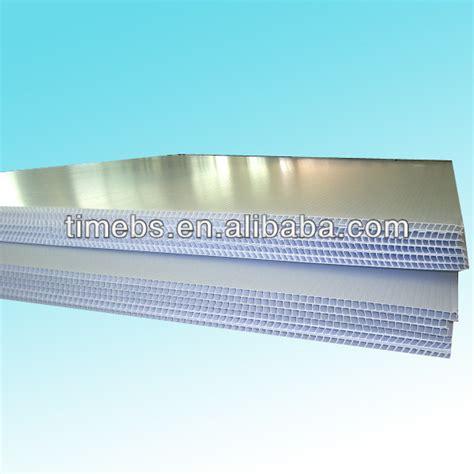 White Corrugated Plastic Sheet 4x8 View White Corrugated