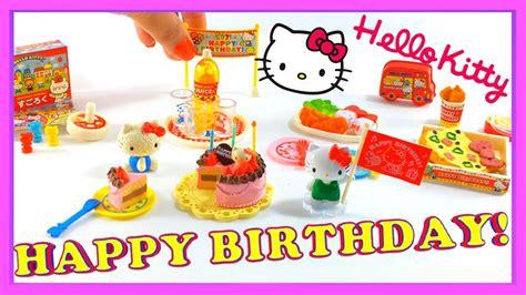 Miniatur Set Hello hello birthday set re ment miniature