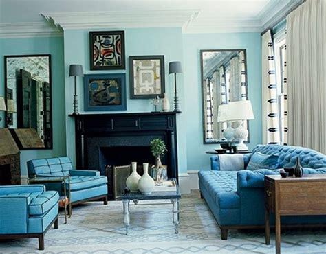 decorar sala azul como decorar salas en color turquesa