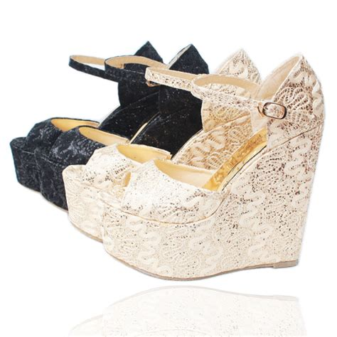 get cheap bridal wedge sandal aliexpress