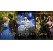 Disney Cinderella 2015 Character Posters By Nickelbackloverxoxox On