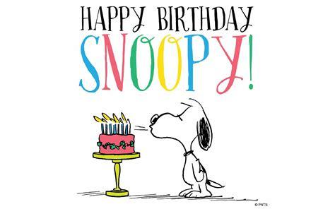 imagenes de feliz cumpleaños amiga snoopy snoopy celebra su cumplea 241 os 66 posta