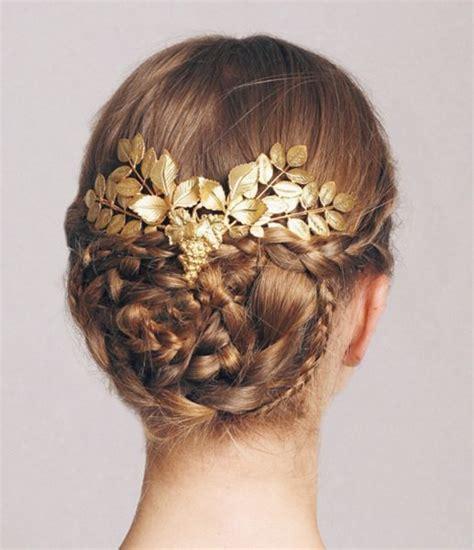 los 60 mejores peinados de novia 2016 bodas zankyou m 225 s de 25 ideas incre 237 bles sobre pelo griego en pinterest