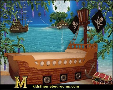 pirate wall murals decorating theme bedrooms maries manor pirate bedrooms pirate themed furniture nautical