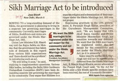 section 9 of hindu marriage act 1955 law in perspective sikh marriage act a change in six