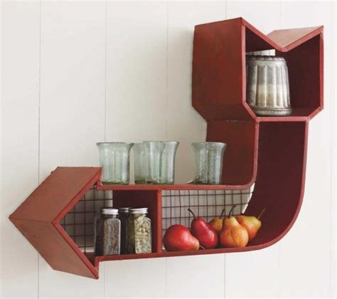 Retro Shelf by Retro Arrow Shelf Eclectic Display And Wall Shelves