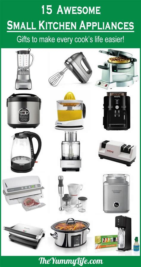 list of kitchen appliances 17 best images about gift guides for cooks foodies and more on kitchen tools