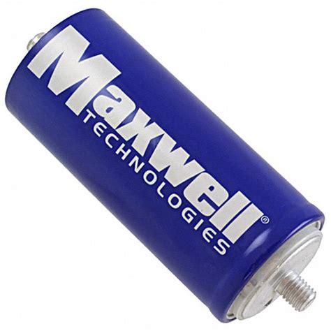 maxwell technologies capacitors bcap3000 p270 k04 maxwell technologies inc capacitors digikey