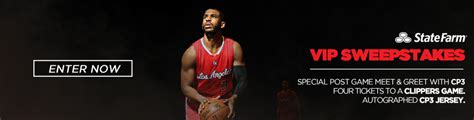 State Farm Sweepstakes - state farm vip sweepstakes la clippers