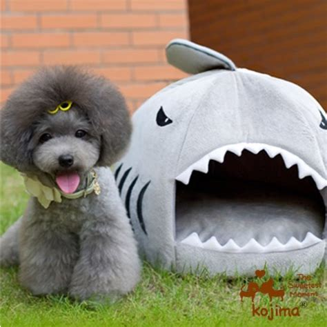 shark dog bed cute dog bed let your dog sleep in the sharks mouth