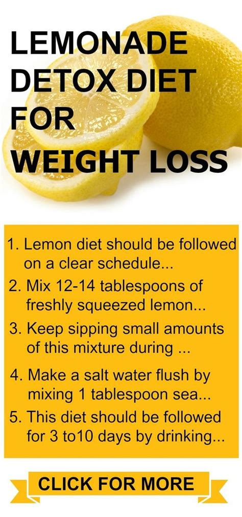 Free Detox Diets For Weight Loss by Lemonade Diet Rapid Weight Loss And Lemonade On
