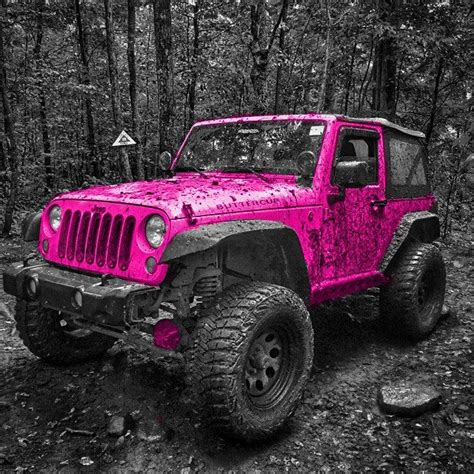pink jeep rubicon best 25 pink jeep wranglers ideas on pink