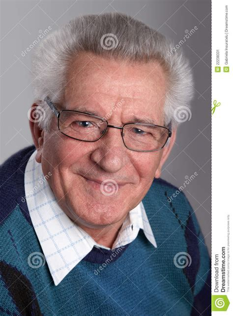 grandfather s portrait of a grandfather stock image image of aging