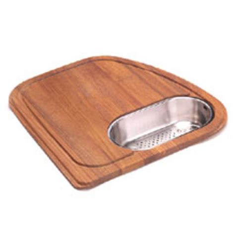 Kitchen Sink Cutting Board Kitchen Sink Accessories Vision Solid Wood Cutting Board With Polished Stainless Steel