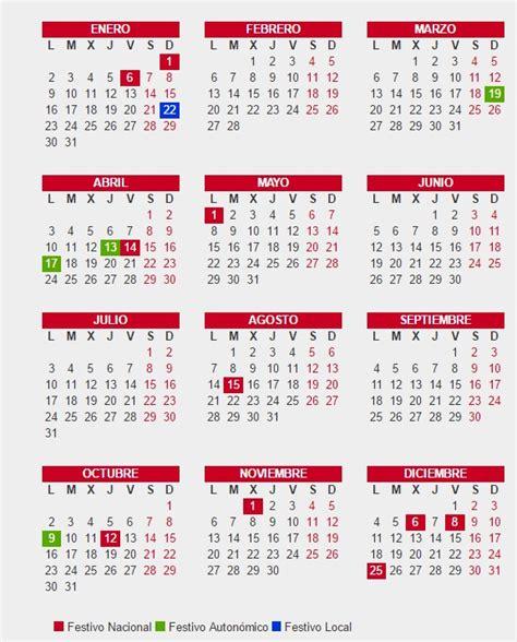 Calendario Por Dia 2017 Calendario Laboral 2017 Valencia De Opcionis