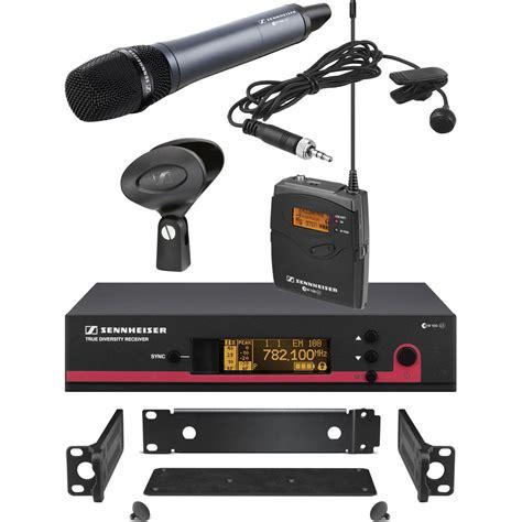 Mic Wireless Sennheiser Evolution Ew 1000 Murah sennheiser ew 122 135 g3 wireless contractor ew122 135g3 g b h