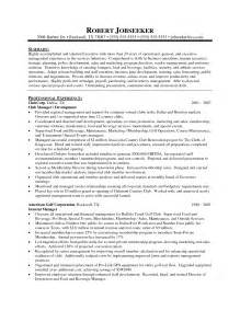 district manager resume sle free resume templates