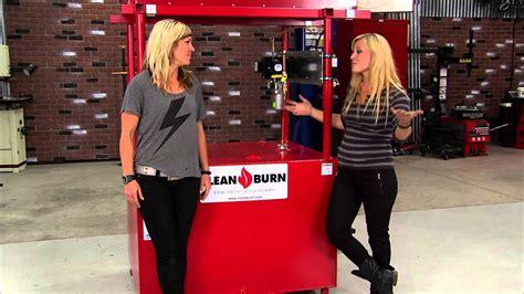 girls garage  product spotlight clean burn youtube