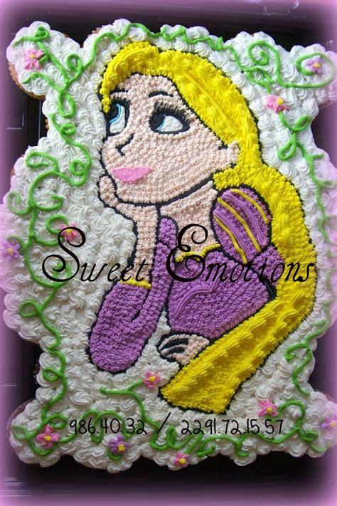 rapunzel pastel de cupcakes princesas pinterest rapunzel cupcake  pastel