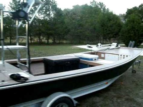 archer craft flats boat for sale 2005 microdraft flats boat shallow running boat youtube