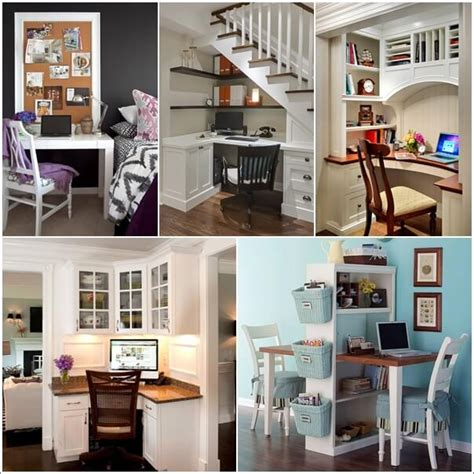 Set Up A Small Home Clever Ways To Set Up A Small Home Office