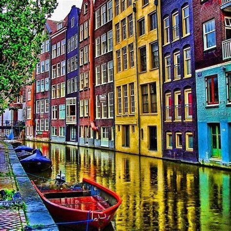amsterdam the best of amsterdam for stay travel books colorful canal amsterdam the