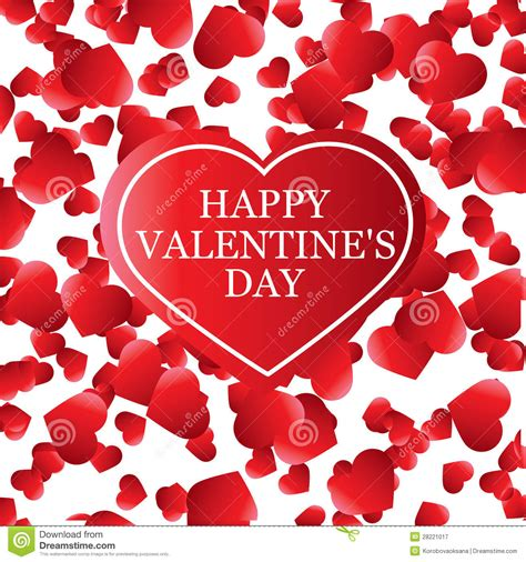 valentines day card banner design royalty free stock