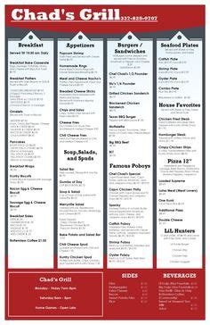bar and grill menu templates template menu design on menu design pizza