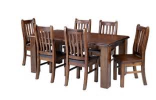 felton 1 8 solid pine wood dining table 6 chairs combo