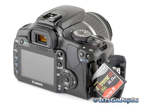 canon eos 400d canon eos 400d digitale review opslag en energie