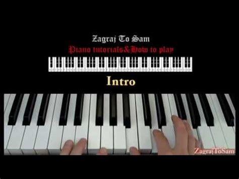 tutorial na keyboard grzegorz hyży tabb na chwilę jak zagrać piano
