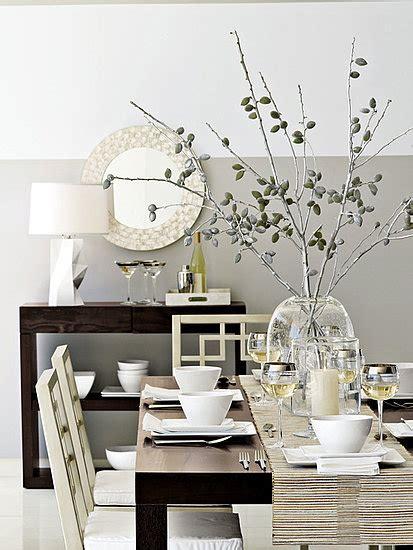 centro de mesa con ramas decoraci 243 n hogar ideas para