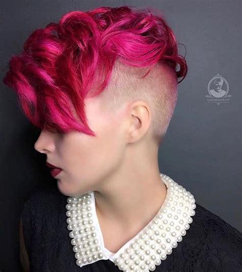 feminine mohawks haircuts undercut hairstyle female undercuts and mohawks