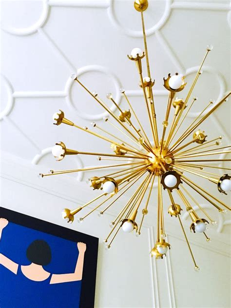 decor living sputnik how a mid century chandelier can elevate your living room