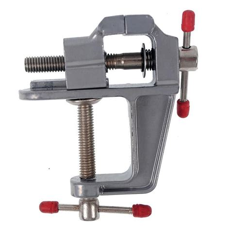 metal bench vice aluminum alloy hand tool multi functional diy mini metal vise bench vice table
