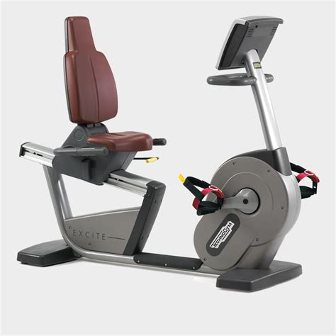 recline exercise bike excite 174 recline md inclusive exercise bike technogym