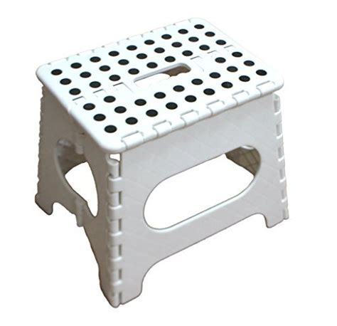 7 Inch Step Stool by Jeronic 11 Inch Plastic Folding Step Stool Black Hardware