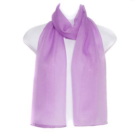 Plain Chiffon Scarf plain chiffon soft neck shawl stole wrap scarf