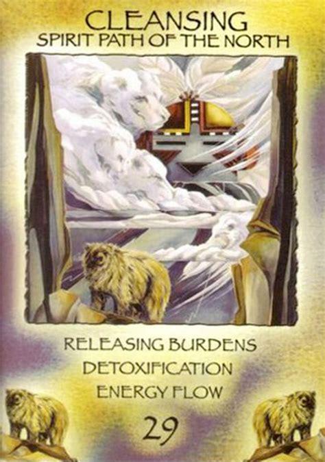 One Spirit Medicine Detox quot 29 cleansing quot spirit of the wheel meditation deck par
