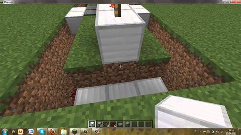 come fare una porta scorrevole minecraft come fare una porta scorrevole