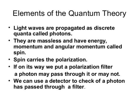 What Is A Quantum Of Light Called by Introduction To Quantum Cryptography Dr Janusz Kowalik