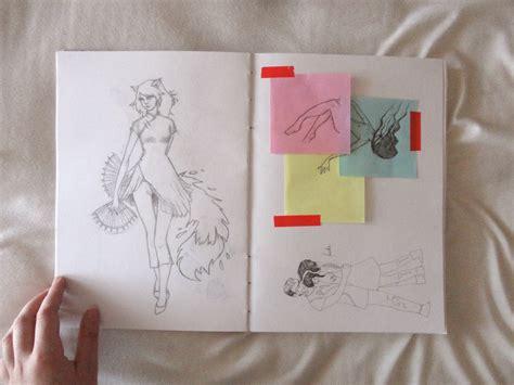 tutorial como fazer um sketchbook cellar door como fazer um sketchbook